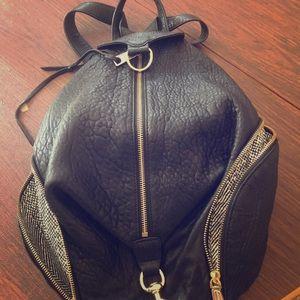 Black leather Rebecca Minkoff Julian Backpack